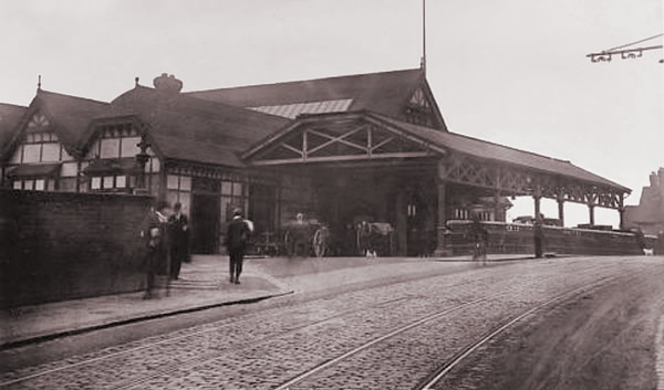 Mansfield Woodhouse Train Station Car Park