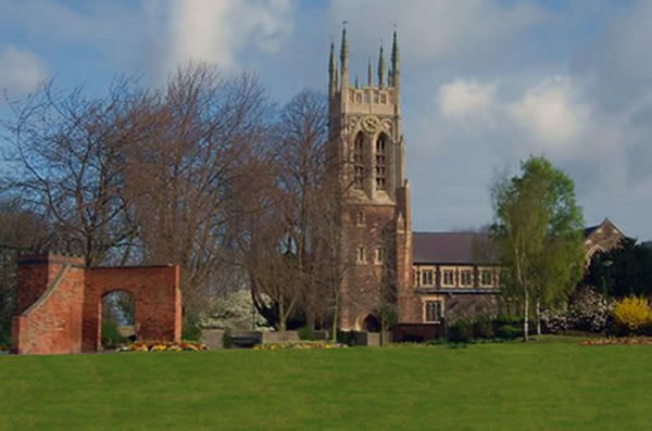 Burton On Trent Local History Saint Peters Church