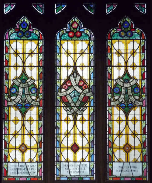 Burton on Trent Local History » Stained Windows